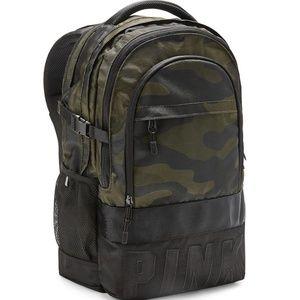 Victoria Secret Camo Collegiate Backpack